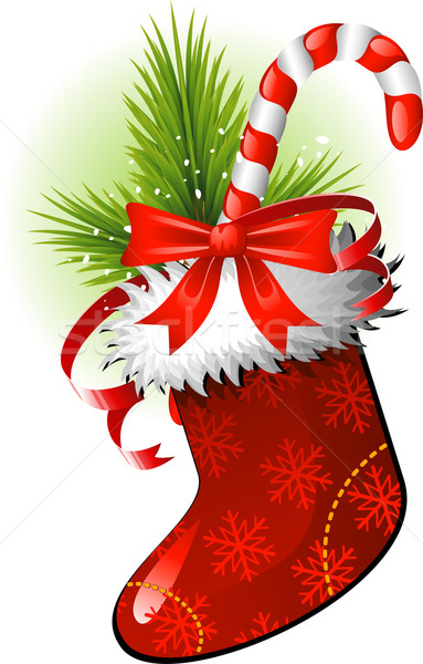 Noël stockage blanche eps arbre art Photo stock © jara3000