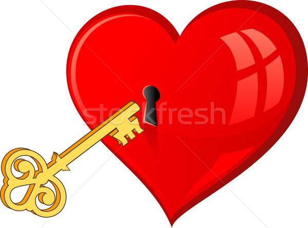 Рисунок от сердца к сердцу нарисованный
