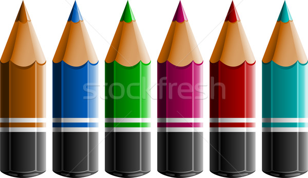 Colour Pencils Stock photo © jara3000