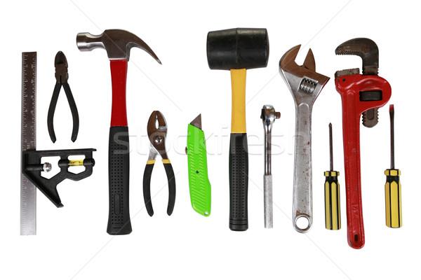 массив инструменты изолированный многие различный Сток-фото © jarenwicklund