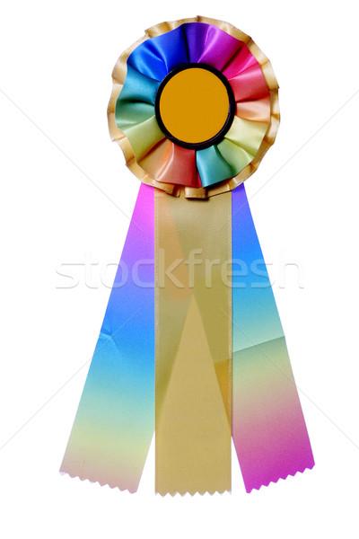 Multicolored ribbon for awards or prize Stock photo © jarenwicklund