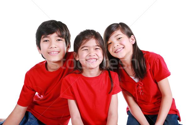 Three siblings Stock photo © jarenwicklund