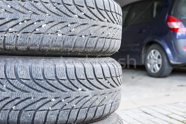 tires of a car Stock photo © jarin13