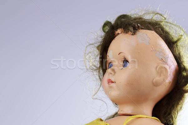 Photo stock: Tête · effrayant · poupée · comme · horreur · film
