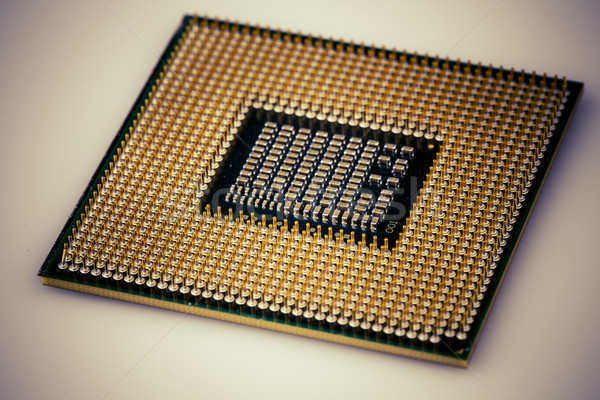 detail of central processor unit from below Stock photo © jarin13