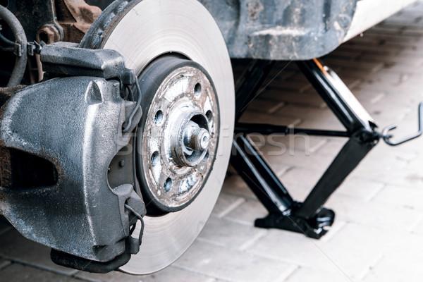 車 タイヤ 男性 業界 ワーカー ストックフォト © jarin13