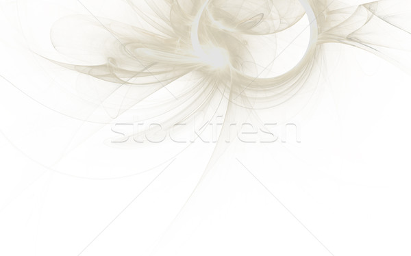Gyönyörű fehér absztrakt fraktál tapéta fény Stock fotó © jarin13
