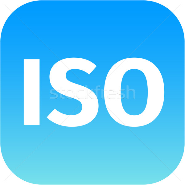 ISO app icon Stock photo © jarin13