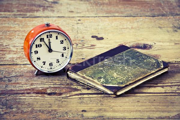 Old alarm-clock Stock photo © jarin13