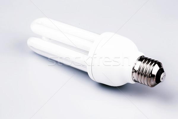 energy efficient light bulb isolated on white Stock photo © jarin13