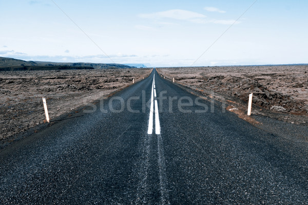 Road to nowhere Stock photo © jarin13