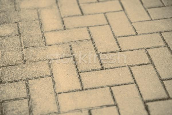 Pavimento gris concretas carretera ciudad construcción Foto stock © jarin13