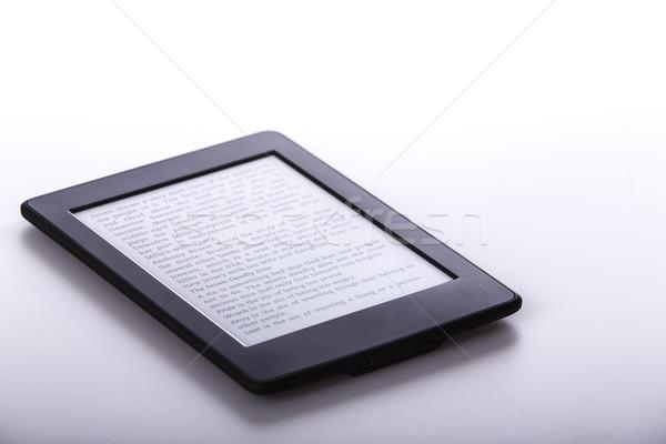 黒 電子ブック 読者 タブレット 白 技術 ストックフォト © jarin13