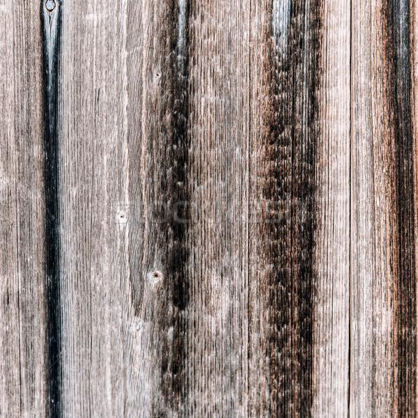 Escuro textura de madeira naturalismo padrões vintage madeira Foto stock © jarin13