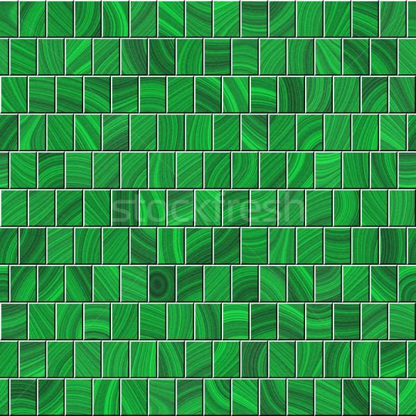 seamless texture of green planks Stock photo © jarin13