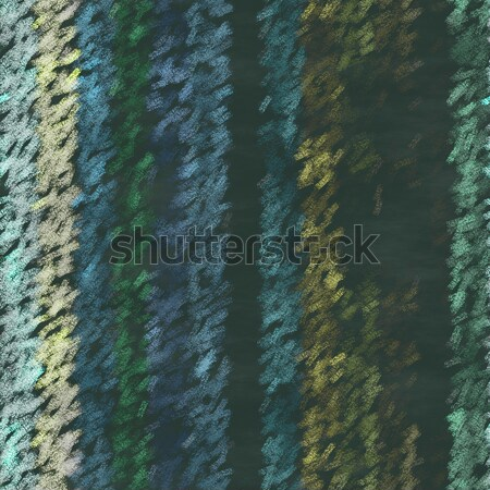 seamless texture of color wooden planks drawn with chalk - fence Stock photo © jarin13