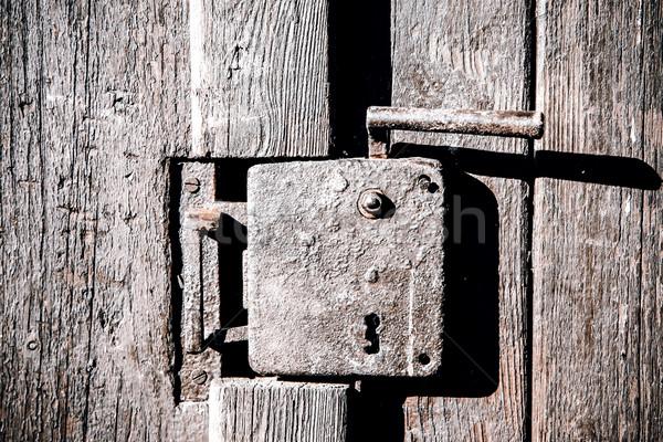 Old door handle Stock photo © jarin13