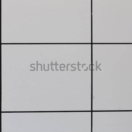 Blanche carrelage texture mur design fond Photo stock © jarin13