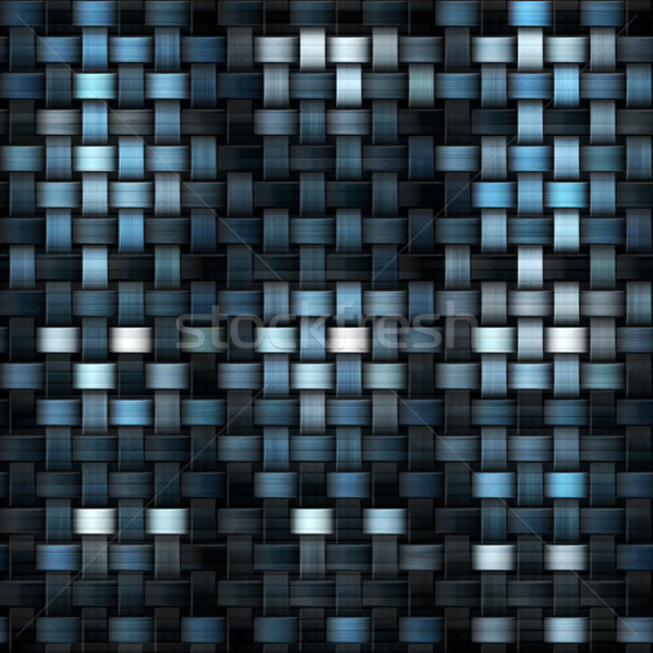 fabric texture or knitwear in blue and black Stock photo © jarin13