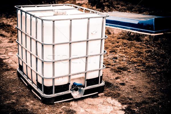 white water tank Stock photo © jarin13