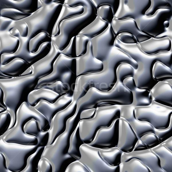 Malaquita pedra textura padrão sem costura cinza Foto stock © jarin13