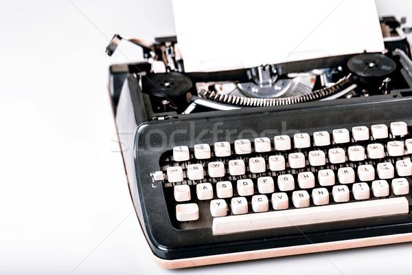 紙 タイプライター 愛 ビジネス 背景 書く ストックフォト © jarin13