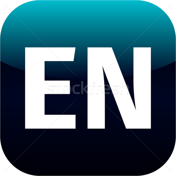 EN domain icon Stock photo © jarin13