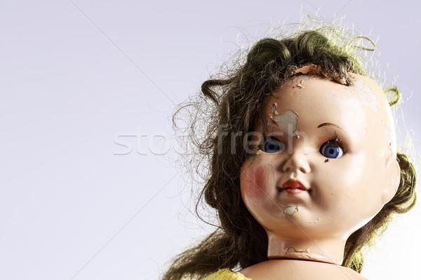 Fej ijesztő baba ahogy horror film Stock fotó © jarin13