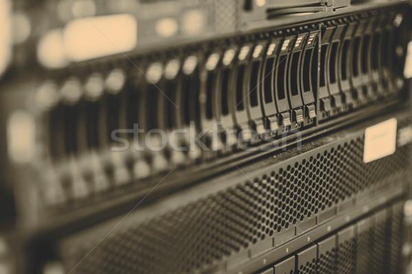 Storage server Stock photo © jarin13