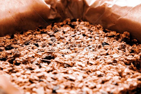 クローズアップ 自家製 ミューズリー おいしい 食品 ストックフォト © jarin13
