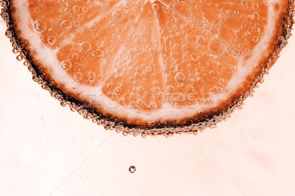 Kireç kabarcıklar güzel taze dilim su Stok fotoğraf © jarin13