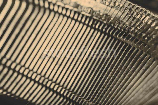 старые машинку письма красивой технологий Сток-фото © jarin13