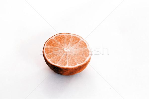 Kireç beyaz taze gıda meyve yeşil Stok fotoğraf © jarin13