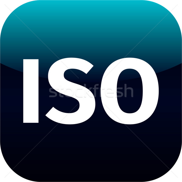 ISO app icon Stock photo © jarin13