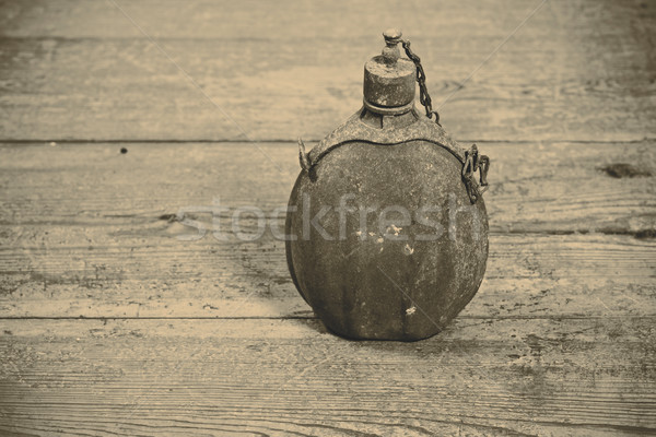 old army bottle Stock photo © jarin13
