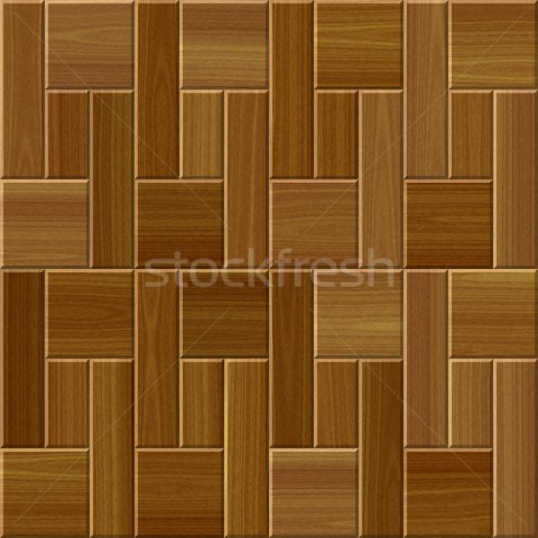 texture of wooden parquet floor Stock photo © jarin13