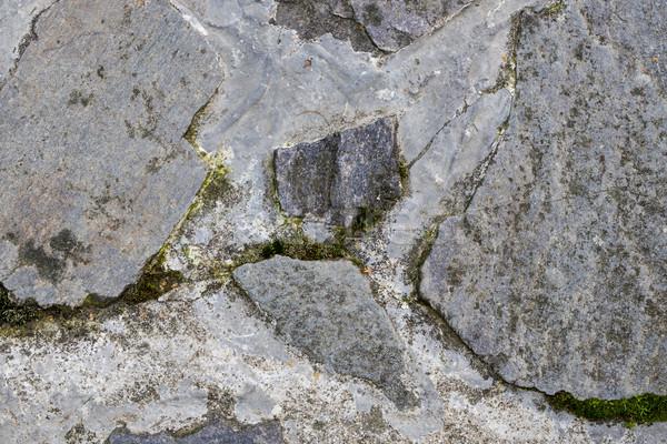 詳細 古い 石 舗装 テクスチャ レトロな ストックフォト © jarin13