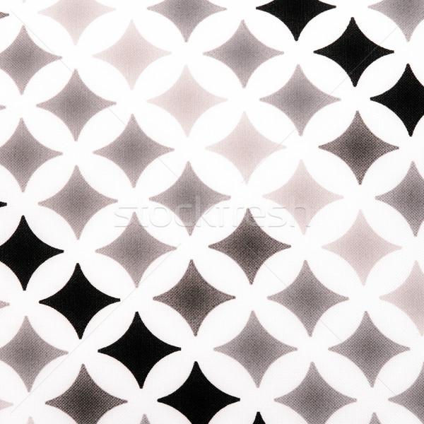 fabric texture - black and white Stock photo © jarin13