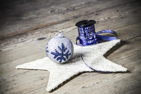 Natal decoração belo comida festa Foto stock © jarin13