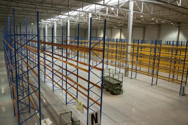 Vazio novo armazém preparado começar negócio Foto stock © jarin13