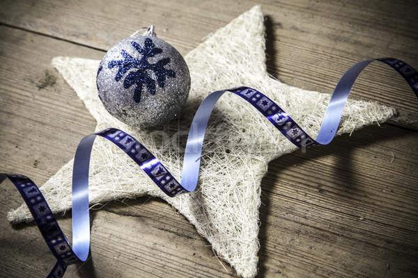 Рождества украшение красивой продовольствие вечеринка Сток-фото © jarin13