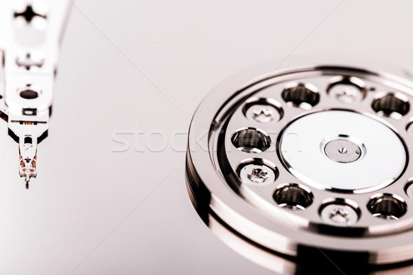 дисков жесткий внутри изолированный белый Сток-фото © jarin13