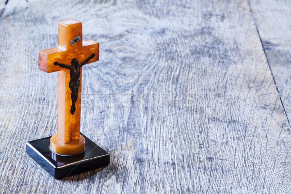 Stok fotoğraf: Güzel · eski · çapraz · İsa · Paskalya