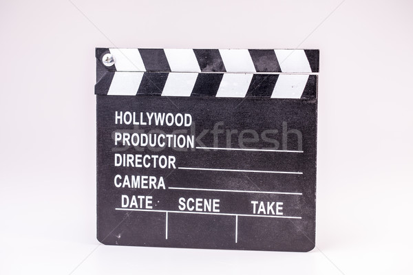 Film fehér film fa televízió videó Stock fotó © jarin13