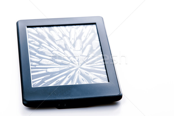 Preto ebook leitor comprimido branco tecnologia Foto stock © jarin13