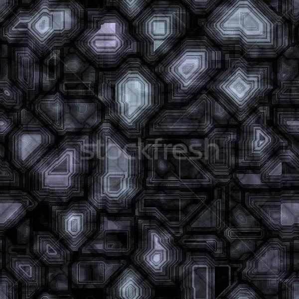 Abstract naadloos textuur zwarte mooie mode Stockfoto © jarin13