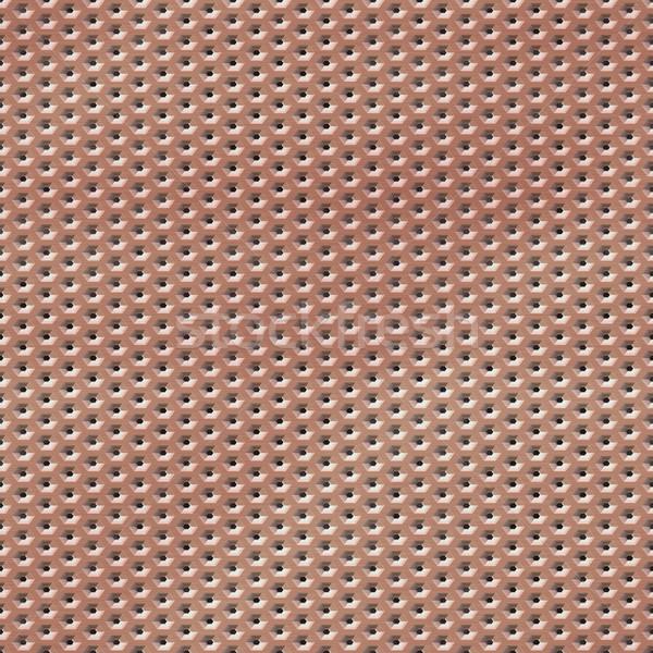 Draht orange Mesh Textur Farbe Stock foto © jarin13