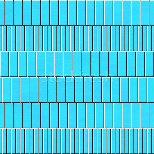 seamless texture of blue planks Stock photo © jarin13