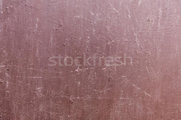 Kahverengi metal doku eski duvar sokak Metal Stok fotoğraf © jarin13