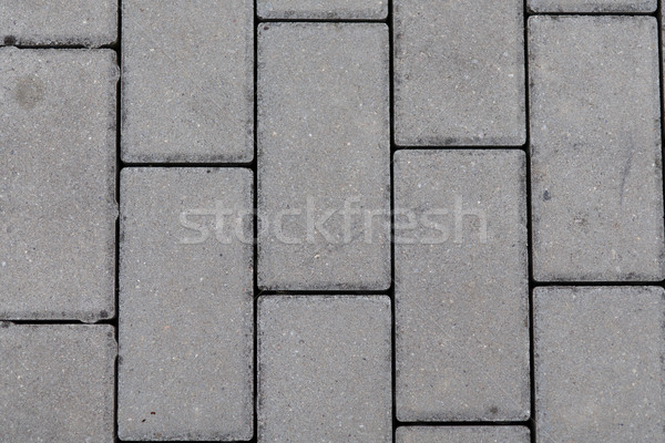 interlocking concrete pavement Stock photo © jarin13